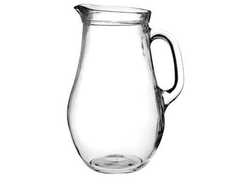 Reklamní džbán Bera 250, džbán na vodu, reklamní sklo, džbán s potiskem, džbán s logem, pískování do skla, barevné sklo