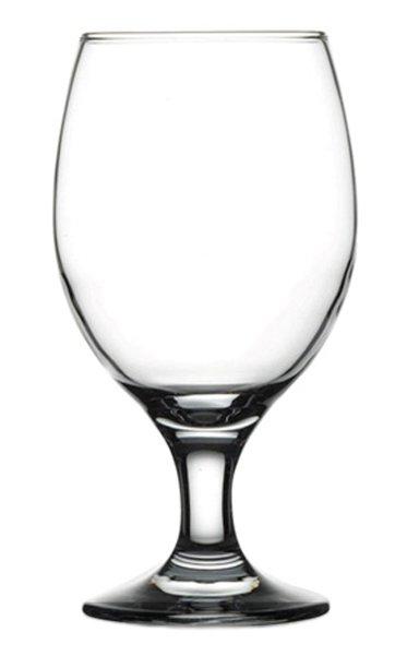 Reklamní pivní sklenice Bona 300, sklenice na pivo, reklamní sklenice, reklamní sklo, sklenice s potiskem, sklenice s logem, pískování do skla, barevné sklenice, barevné sklo